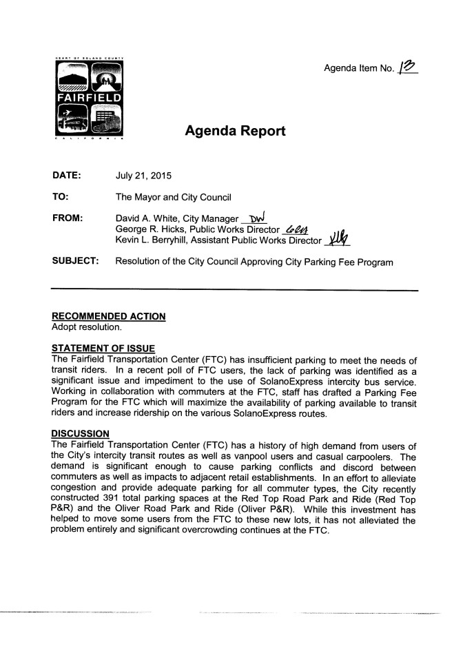 2015-07-21 Agenda Item 13 and Reso 2015-176 for Parking_Page_1